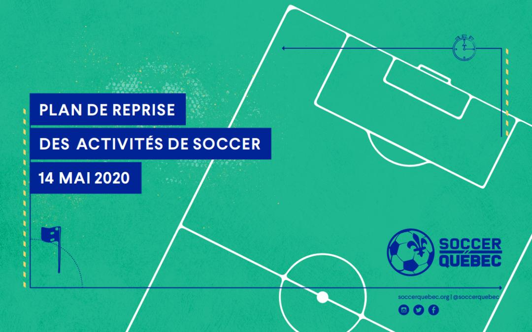 Plan de relance des activités de soccer
